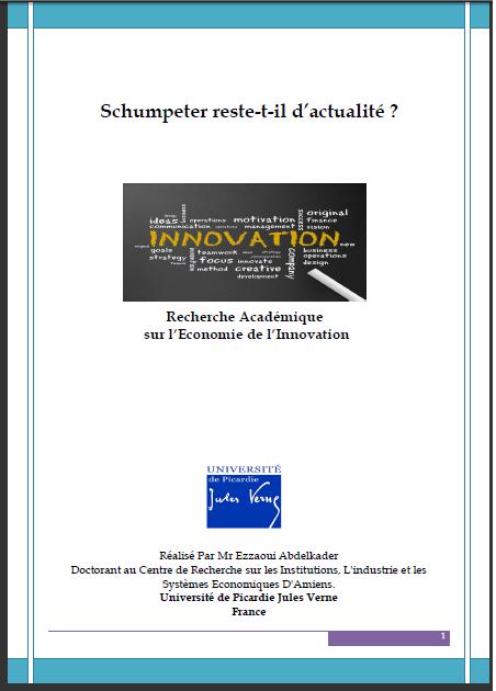 Schumpeter reste-t-il d'actualité ?